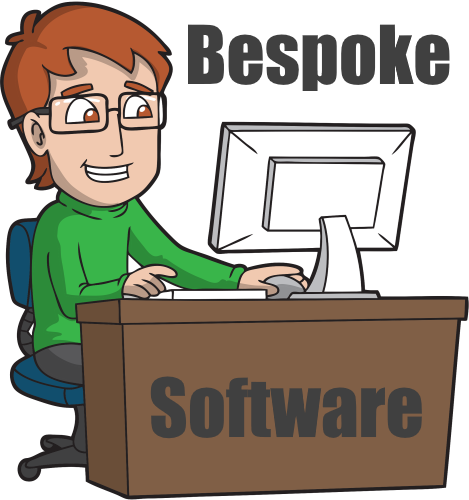 Bespoke Software development, developing software for our clients