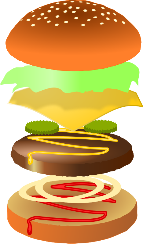 Software development is like building the perfect burger from layers